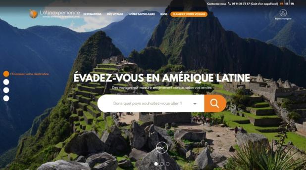 Latinexperience.fr lance un nouveau site qui invite au voyage !