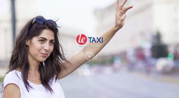 L'application permet de géolocaliser et de réserver un véhicule- (c) le.taxi