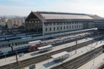 Vue depuis le toit terrasse de la direction régionale de la SNCF à Marseille Saint Charles - DR : A.B.