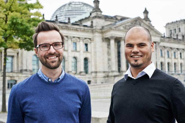 Johannes Thunert et Julian Hauck, fondateurs de Distribusion - (c) Distribusion