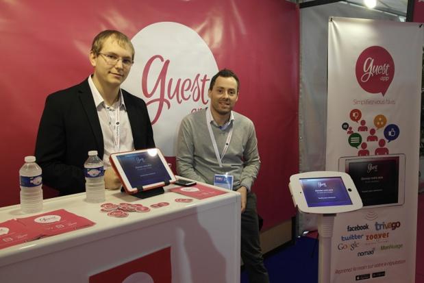 Les co-fondateurs de Guest App - (c) Guest App