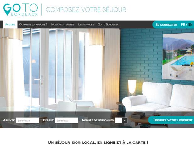 Le site de réservation Go To Bordeaux est en ligne depuis juillet 2015 - Capture d'écran