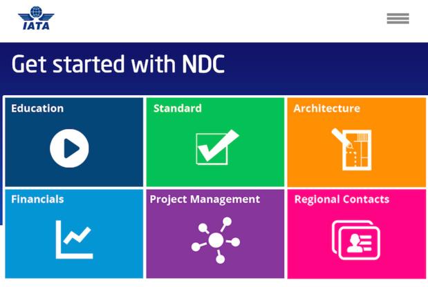 La nouvelle norme NDC va progressivement être mise en place dans les GDS. DR
