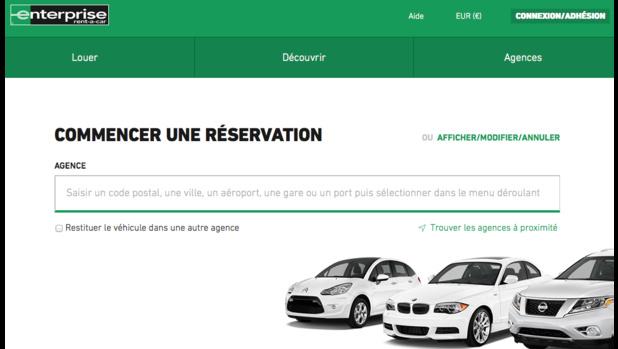 arnaque enterprise rent a car