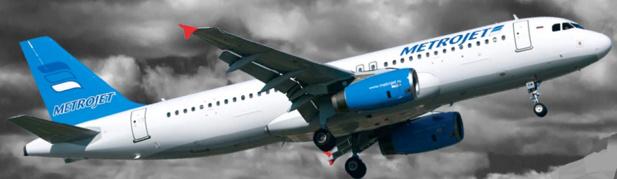 L'avion de Metrojet s'est crashé dans le Sinaï - Photo : Metrojet