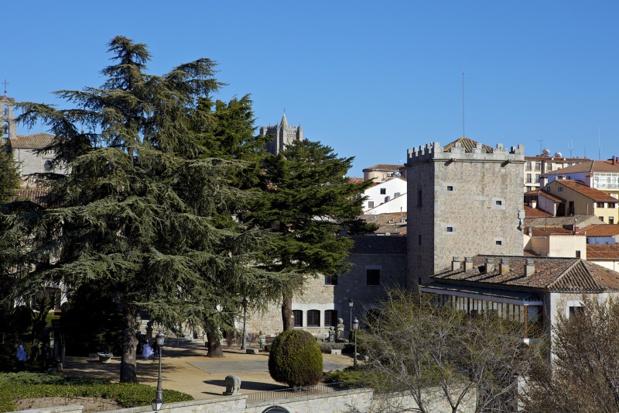 """Aujourd'hui, les """"Paradores de Turismo"""" offrent 10000 chambres pour un total de 94 établissements. Ici, celui d'Avila - DR : J.-P.C."""