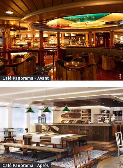 Hurtigruten rénove les espaces intérieurs de 4 navires en 2016