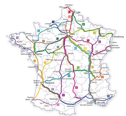 Le réseau Hiver 2015/2016 d'Isilines compte 26 lignes d'autocars en France - DR : Isilines