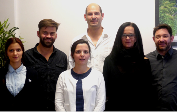 L'équipe d'Ensolia à Grenoble. L'entreprise à taille humaine a réalisé un chiffre d'affaires de 1 800 000 € en 2014 - Photo DR Ensolia
