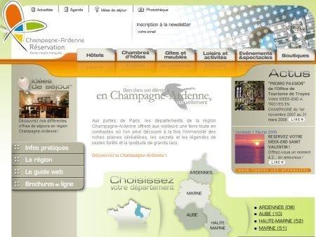 Champagne-Ardenne met en ligne une nouvelle vitrine de l'offre touristique