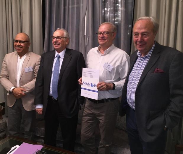 Le conseil d'administration de Manor lors des Journées des dirigeants à Madrid. - Photo JdL
