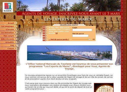 L'ONMT lance l'opération ''Les Experts du Maroc''