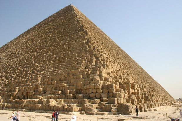La Pyramide de Kheops- DR: Alex lbh Wikimedia Commons