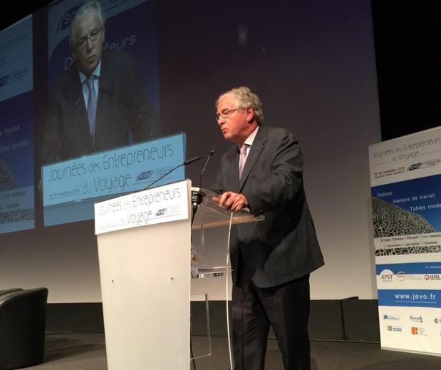 """Congrès du SNAV : """"Nous devons arriver à une confédération des métiers du tourisme"""" (live)"""