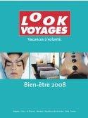 Look Voyages édite sa brochure Bien-Etre