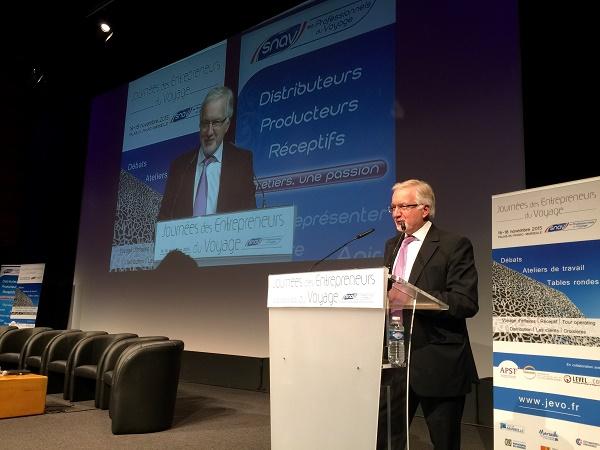 """Congrès du SNAV : """"La 3e révolution est portée par le mobile"""" (live)"""