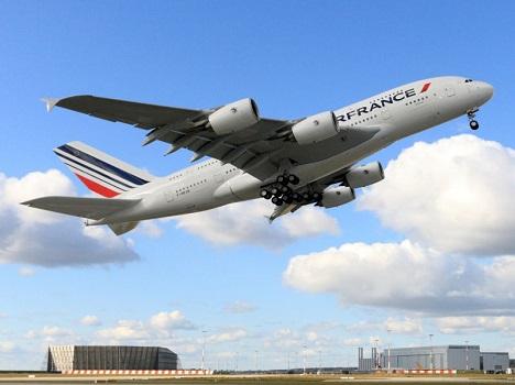 Les vols d'Air France ont été l'objet de menaces téléphoniques quelques minutes après leur décollage - Photo : Michael Lindner - Air France