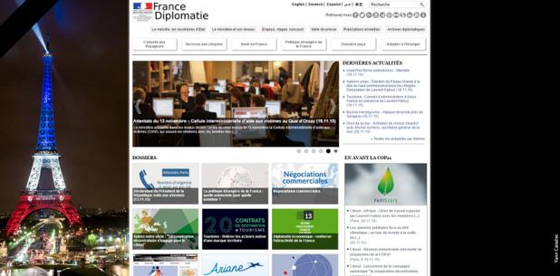 Le Quai d'Orsay se mobilise pour aider les professionnels du tourisme français - capture d'écran