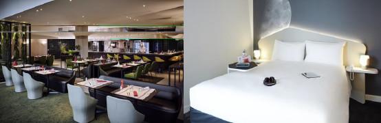Les deux nouveaux hôtels d'AccorHotels à CDG compte 305 chambres chacun - Photos : AccorHotels