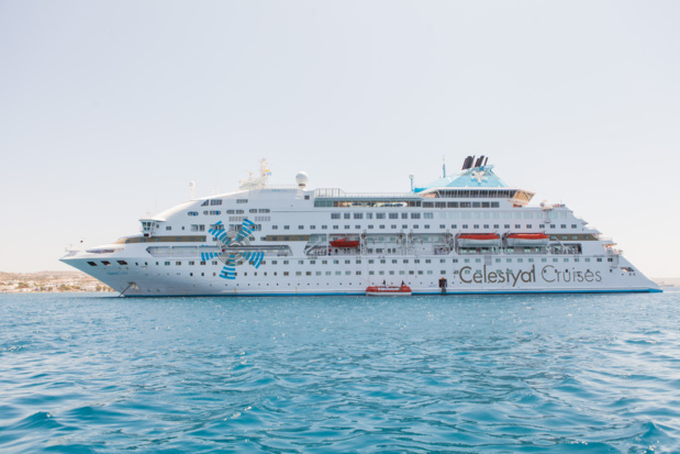 Le Celestyal Crystal fait le plein à Cuba - Photo : Celestyal Cruises