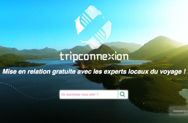 Trip Connexion met en relation des voyageurs avec des acteurs locaux du tourisme - Capture d'écran Trip Connexion