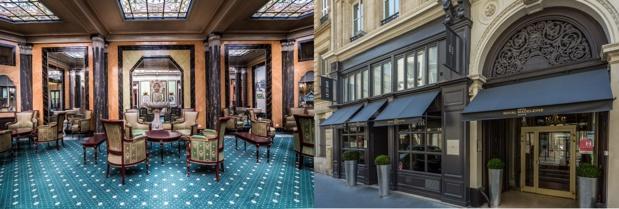 Le Richmond Opéra (à gauche) et le Royal Madeleine (à droite) intègrent le portefeuille d'Elegancia Hotels - Photos DR