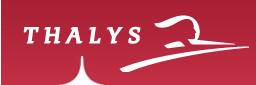 Thalys : trafic interrompu entre Bruxelles et Lille