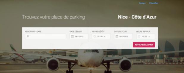 TravelerPark développe ses activité hors de France - Capture d'écran