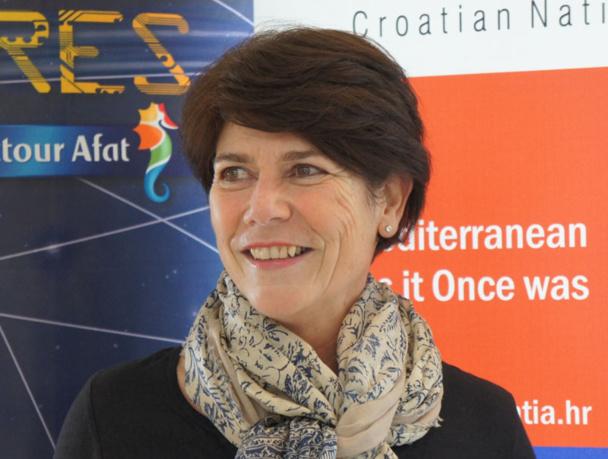Dominique Beljanski, président de la coopérative Selectour Afat à l'occasion du Congrès du réseau à Split en Coratie en 2014 -Photo CE