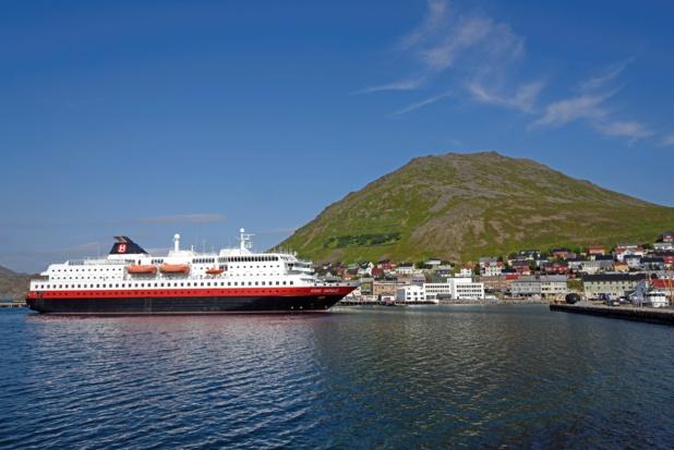 Le MS Kong Harald. Entièrement rénové il assurera la haute saison touristique 2016 - Photo : Hurtigruten