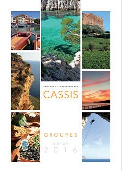 La brochure Groupes 2016 de l'OT de Cassis sera présentée aux professionnels de la ville le 10 décembre 2015 - DR : OT de Cassis