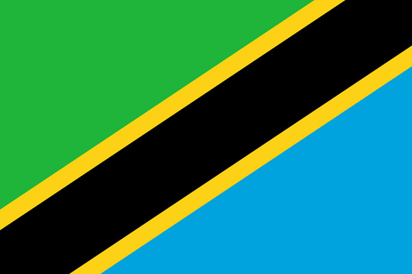 Drapeau de la Tanzanie - DR : Wikipedia