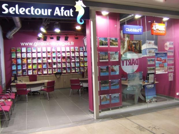 L'agence Giraux Voyages du groupe Selectour Afat à Cercy - DR