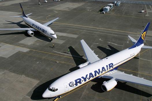 Ryanair a transporté 7,7 millions de passagers en 2015 - Photo : Ryanair