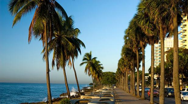 Une vie nocturne animée à Santo Domingo