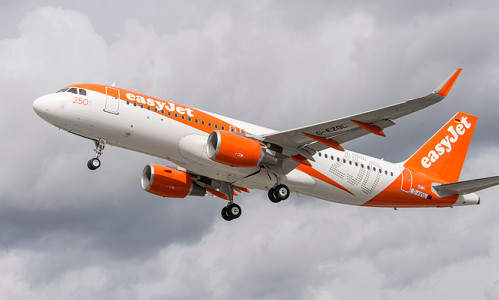 easyJet totalise 4,8 millions de passagers en novembre 2015 - Photo : easyJet