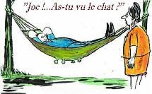 Quand l'humour belge prend l'eau...