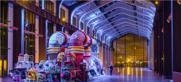 La Cité du Cinéma est un lieu de tournage ouvert au grand public et aux entreprises - Photo : CiteduCinema.org