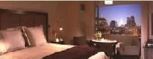 hôtel Gansevoort : vue imprenable sur Manhattan
