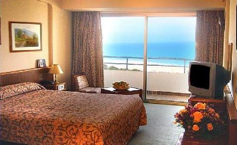 Une photo des chambres figurant sur le site web de l'hôtel