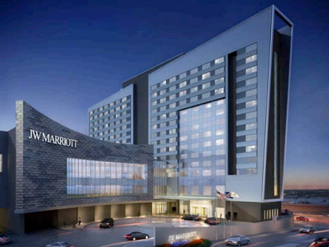 Le JW Marriott Minneappolis Mall of America compte 342 chambres - Photo : JW Marriott