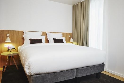 The 9Hotel République has 48 rooms - Photo : 9Hotel Collection