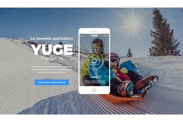 Yuge, l'application des skieurs connectés