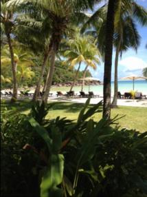 La plage du Paradise Sun - Photo GB