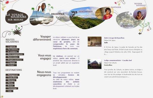 Le site Routes-solidaires.com lancé fin janvier 2008