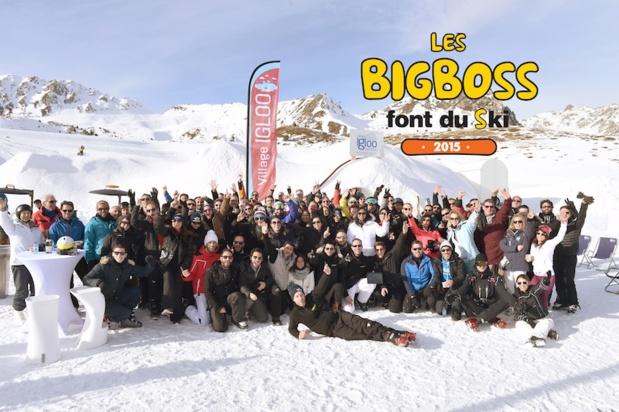 La 3éme édition des BigBoss font du ski aux Arcs 1800 - DR