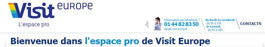 Les productions Printemps/Été 2016 de Visit Europe sont déjà accessibles sur le site pro du TO - Capture d'écran