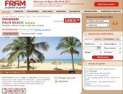 Fram : la 2ème semaine offerte au Framissima Palm Beach au Sénégal
