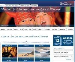 Visitscotland l 39 office du tourisme lance un calendrier fut en ligne - Office tourisme edimbourg ...