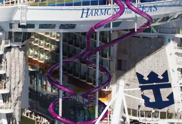 RCI dévoile le méga toboggan de l'Harmony of the Seas
